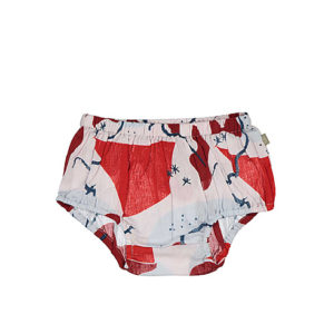 kidscase short lilly bloomers maat 68 rood