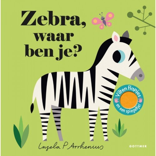 Zebra waar ben je? van Ingela P Arrhenius