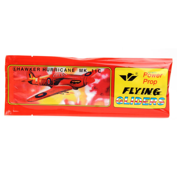 retro foam zweefvliegtuig