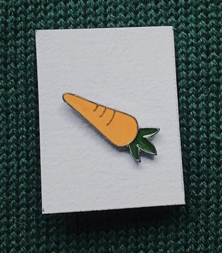 enamel speldje wortel