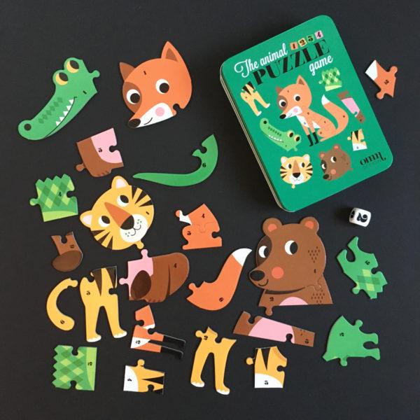 OMM design puzzel spel
