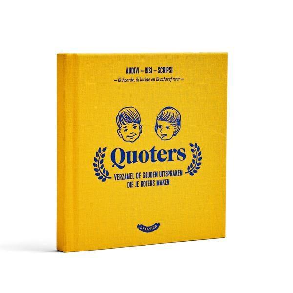 Stratier – Quoters / verzamel alle uitspraken