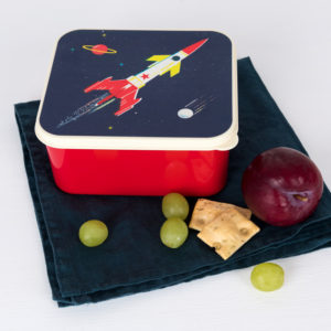 Rexlondon space / ruimtevaart lunchbox