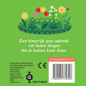 """""""Naar buiten"""" popup-boekje van Ingela P Arrhenius"""