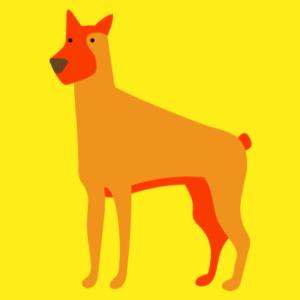kaartje hond