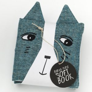 wee gallery – soft boekje met knisper oren – dieren in de tuin