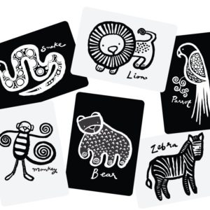 wee gallery – babykaarten / art cards jungle
