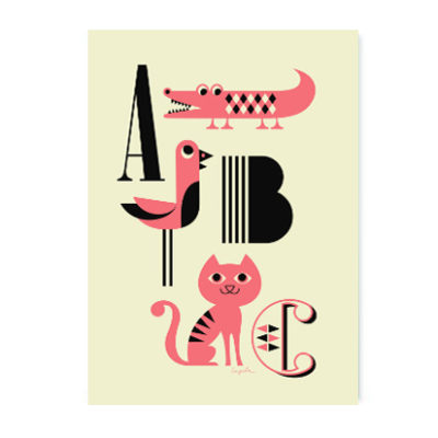 OMM Design Poster 'ABC'