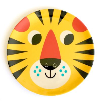 OMM Design bord tijger / tiger face