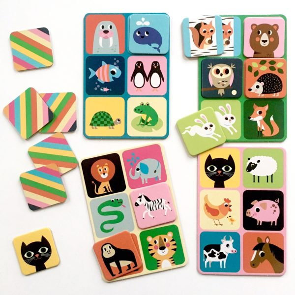 OMM design animal lotto