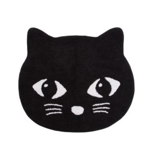 sass & belle vloerkleed zwarte kat