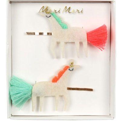 merimeri unicorn haarspeldjes vilt
