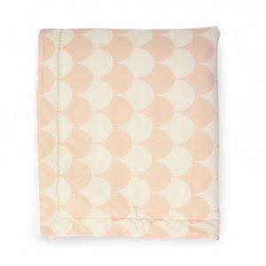 nobodinoz ledikantdeken pink scales / roze