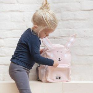 trixie baby rugzak mrs rabbit / konijn