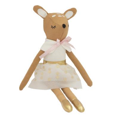 knuffel hert deer rag doll