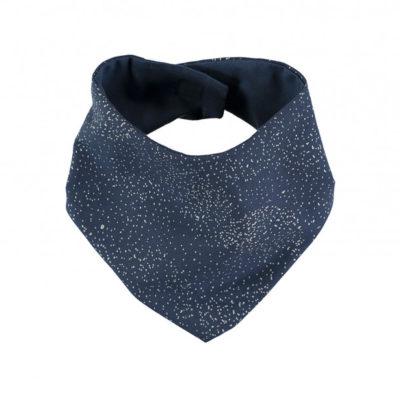 Nobodinoz bandana misty blue / donker blauw