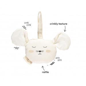 nobodinoz rammelaar / activity toy muis
