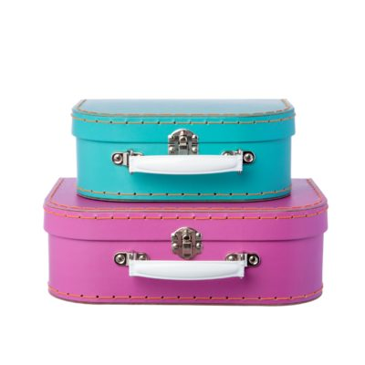 sass & belle fel roze koffer