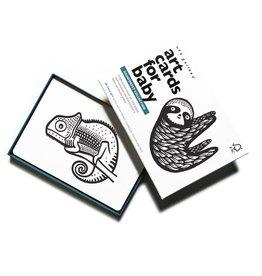 wee gallery – babykaarten / art cards rainforest