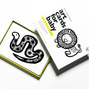 wee gallery - babykaarten / art cards jungle