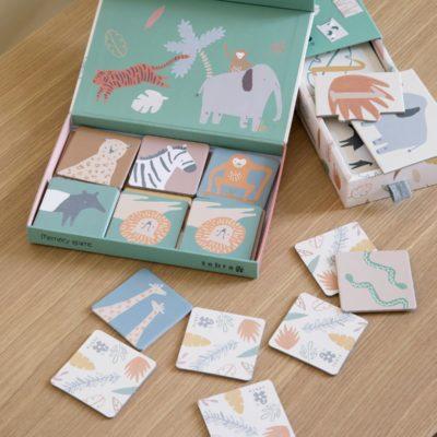 sebra tel-puzzel / counting puzzle