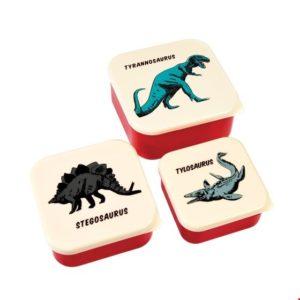 Rexlondon prehistoric / dino snackboxes