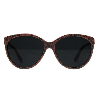 vanpauline zonnebril red leopard / luipaard adult
