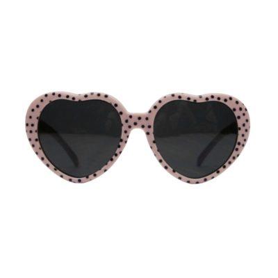 vanpauline zonnebril hearts pink dots junior