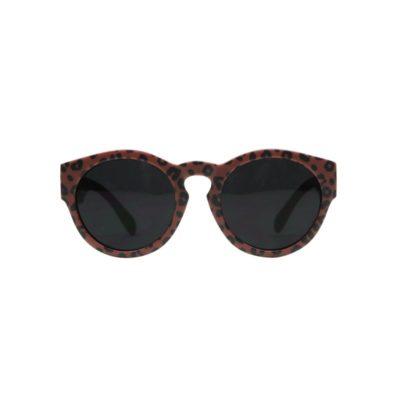 vanpauline zonnebril red leopard / luipaard small