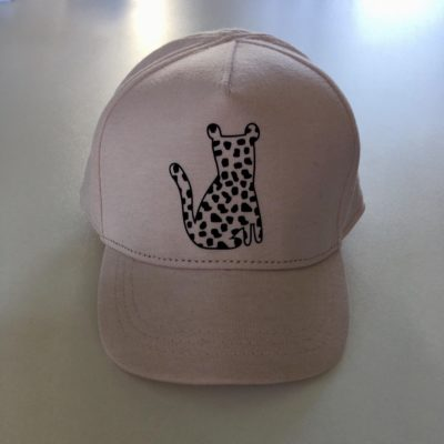 vanpauline pet leopard spots pink 86/92