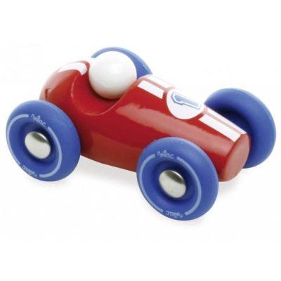 vilac houten raceauto rood