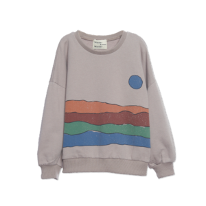Wander & Wonder Desert Print sweatshirt - Grey