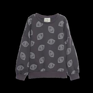 Wander &Wonder sweater eye print charcoal