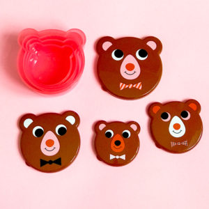 Omm design bear face snackbox middel grootste