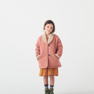 wander and wonder maroc winter jacket kinderjas roze