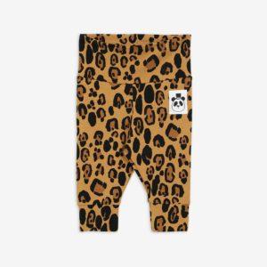 mini rodini overslag broekje leopard legging lyocell