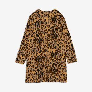 mini rodini leopard dress lyocell