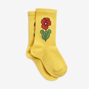 mini rodini sokken viola yellow