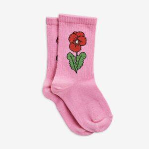 mini rodini sokken viola pink