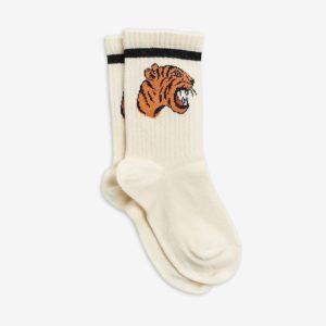 mini rodini sokken tijger wit