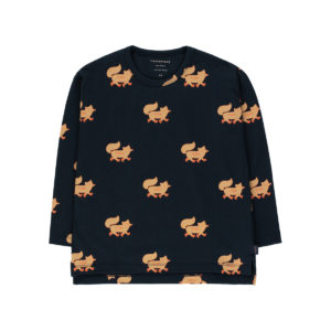 tiny cottons foxes tee