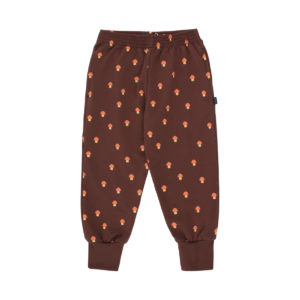 tiny cottons mushroom sweatpants ultra brown/red