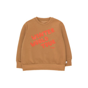 tiny cottons winter world tour sweatshirt