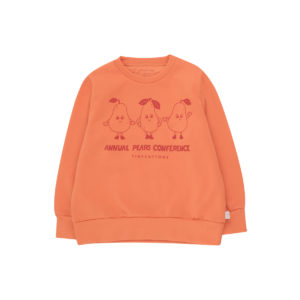 tiny cottons pears conference sweatshirt