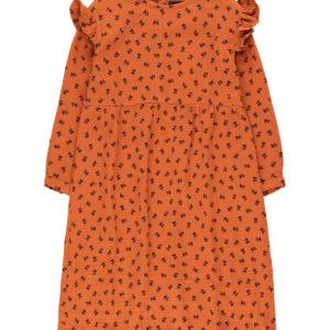 tiny cottons tiny flower dress sienna/navy