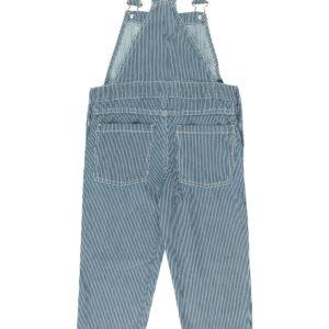 tiny cottons stripes denim overall