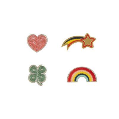 global affairs broche regenboog uit de serie lucky charm