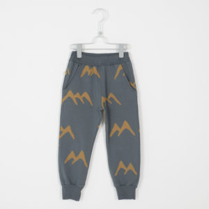 lötie kids 5 pockets broek dark grey forest