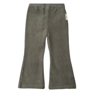 little Indians flared pants curduroy green