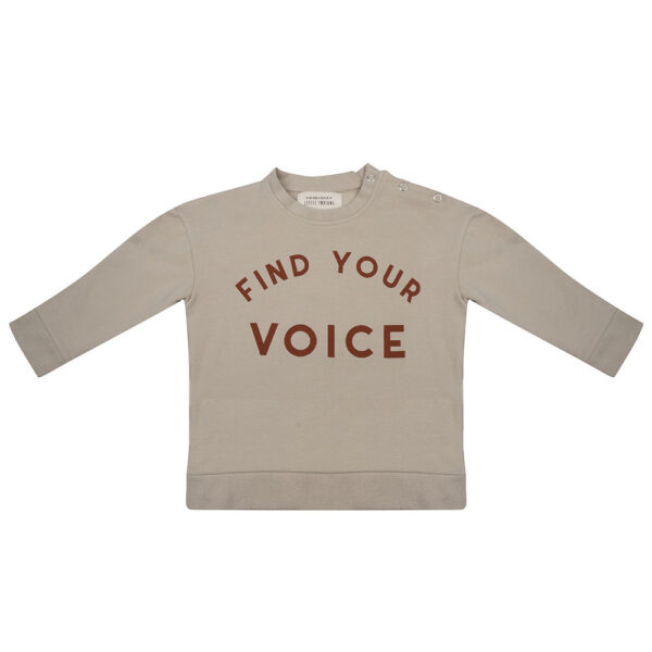 little indians find your voice trui sweater